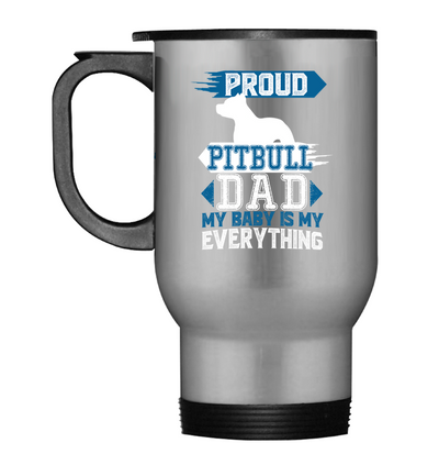 Proud Pitbull Dad Mug