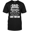 Dad Thanks For Sharing Your DNA Custodian T Shirt