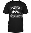 Forecast Camping With A Chance Of Fishing T Shirt