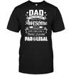 Dad Thanks For Sharing Your DNA Paralegal T Shirt