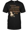 I'm Only Speaking To My Poodle Today T Shirt