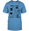 Mom's Rules T Shirt
