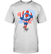 Husky - Happy 4th July T Shirt