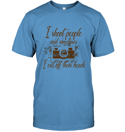 Photographer - I Shoot People T Shirt