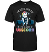 I'm Not A Gym Rat Unicorn T Shirt