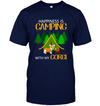Happiness Is Camping With My Corgi T Shirt