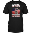 It Takes Someone Special To Be A Cat Daddy With American Flag T Shirt
