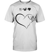 Heart - Me And Pug T Shirt