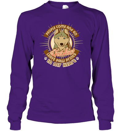 People Come And Go Huskies T Shirt