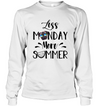 Pug - Less Monday More Summer T Shirt