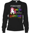 So I Became An Electrician T Shirt Ver2