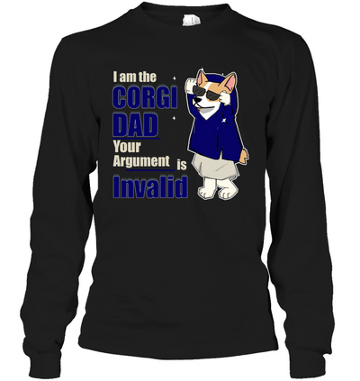 I Am The Corgi Dad T Shirt