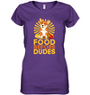 Corgi Food Before Dudes T Shirt