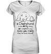 A Dachshund Loves You More Than He Loves Himself T Shirt