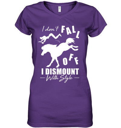 Horse - I Don't Fall Off T Shirt V2