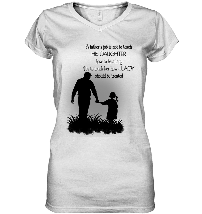 White Standard Poodle Silhouette S Hanes Tagless Tee T-Shirt