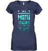 I'm A Math Teacher Of Course I Have Problems T Shirt V2