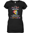I Am A June Girl Shirt