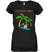 Pug Summer Vibes T Shirt