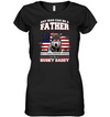 It Takes Someone Special To Be A Husky Daddy With American Flag T Shirt