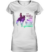 Horse - You Don't Scare Me - I Ride A Mare T Shirt