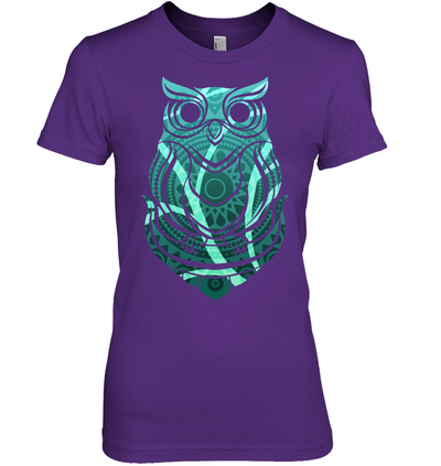 Beautiful Tribal Owl Print Ver 2 T Shirt