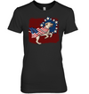 Independence Day Labrador T Shirt
