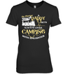 Always Loves Camping With Daughter T Shirt