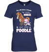 You Will Have Two Friends Horse Poodle T Shirt