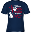 I Just Wanna Stay Home Greyhound T Shirt