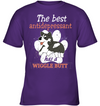 The Best Antidepressant Has A Wiggle Butt Husky T Shirt V1