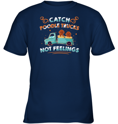 Catch Poodle Trucks T Shirt