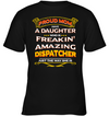 Proud Mom Have A Daughter Dispatcher T Shirt