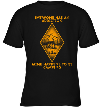 Mine Happens To Be Camping T Shirt