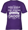 Fish Jerking Lake Lovin' Daddy T Shirt V2