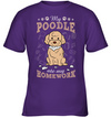 My Poodle Ate My Homework T Shirt