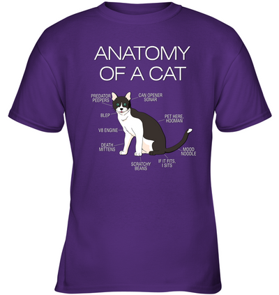 Anatomy Of A Cat T Shirt