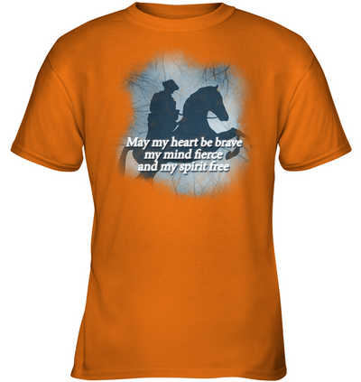 May My Heart Be Brave T Shirt V2