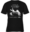 That's How I Roll Husky T Shirt