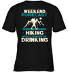 Weekend Forecast Hiking T Shirt