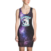 Science Is Magical Unicorn All Over Printed Dress