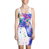 3D Printed Cartoon Colorful Unicorn Dress
