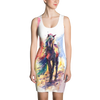 Horse Walking Colorful Watercolor Painting Dress