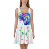 3D Printed Cartoon Colorful Unicorn Skater Dress