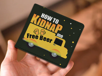 How To Kidnap Me Men's Wallet Forest