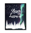 Camping - Never Stop Looking Up Canvas Paintings
