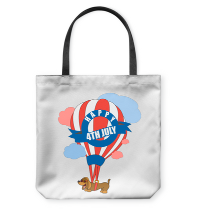 Dachshund - Happy 4th July Tote Bag