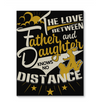 The Love Between Father And Daughter Canvas Print