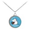 Eat Cakes Unicorn Deco Coin Necklace