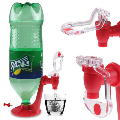 The Magic Tap Saver Soda Dispenser Bottle Coke Upside Down